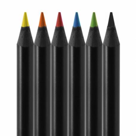 Set de 6 crayons de couleur Conté