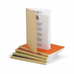 cahier de notes A5 carton recyclé GOCAR12