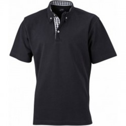 Polo inserts Vichy Homme